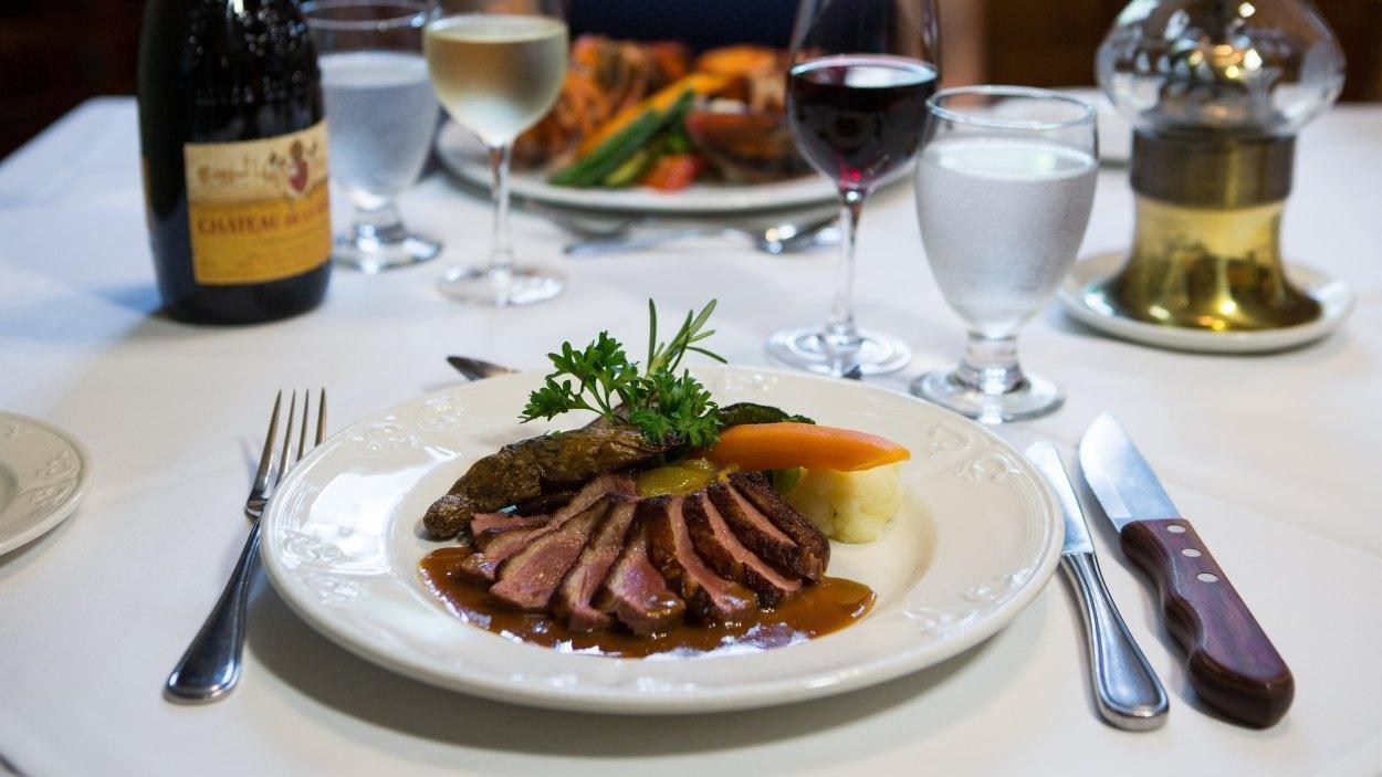 Auberge Baker Restaurant Cuisine Du Terroir Chateau Richer Quebec