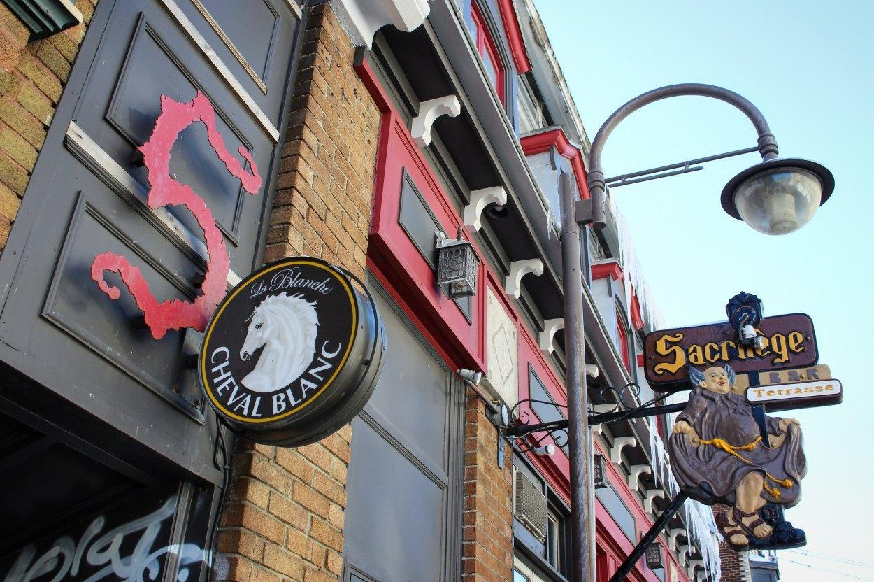Bar Le Sacrilège - Upper Town (Saint-Jean-Baptiste), Quebec - Pub Food Cuisine Restaurant