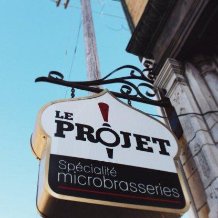 Le Projet, spécialité microbrasseries Restaurant RestoQuebec